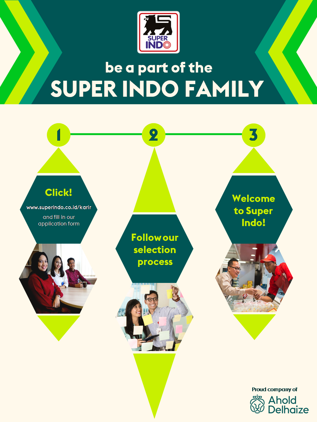 Be a part of the Super Indo family