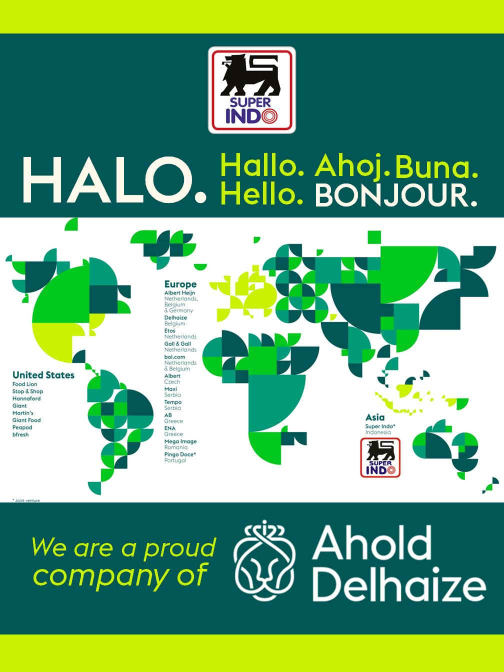 We Are a Proud Company of Ahold Delhaize