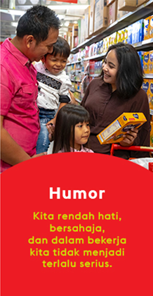 Super Indo values humor